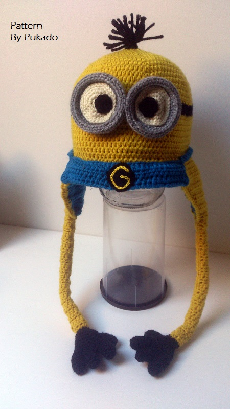 Pukado By Patricia Stuart Kevin The Minion Hat