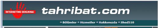 Tahribat.com davetiyesi