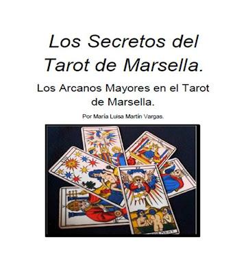 """Portada de la Primera parte del curso   """"Los Secretos del Tarot de Marsella"""""""