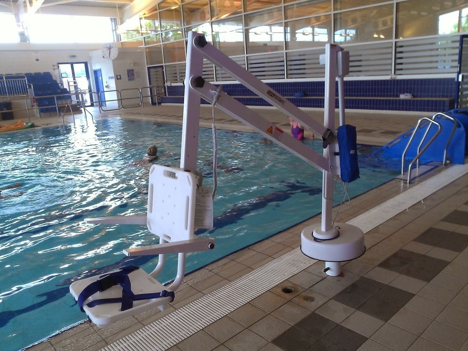 mobility products for disabled people pool access hoists