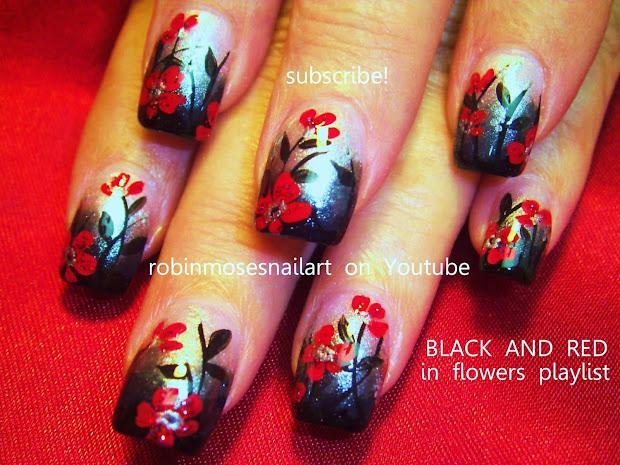 """robin moses nail art """"teal nails"""""""