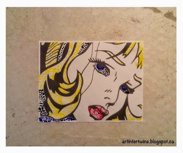 Roy Lichtenstein Art Activity For Kids