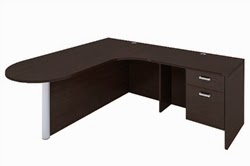 AM-338 Cherryman Amber Series Corner Desk