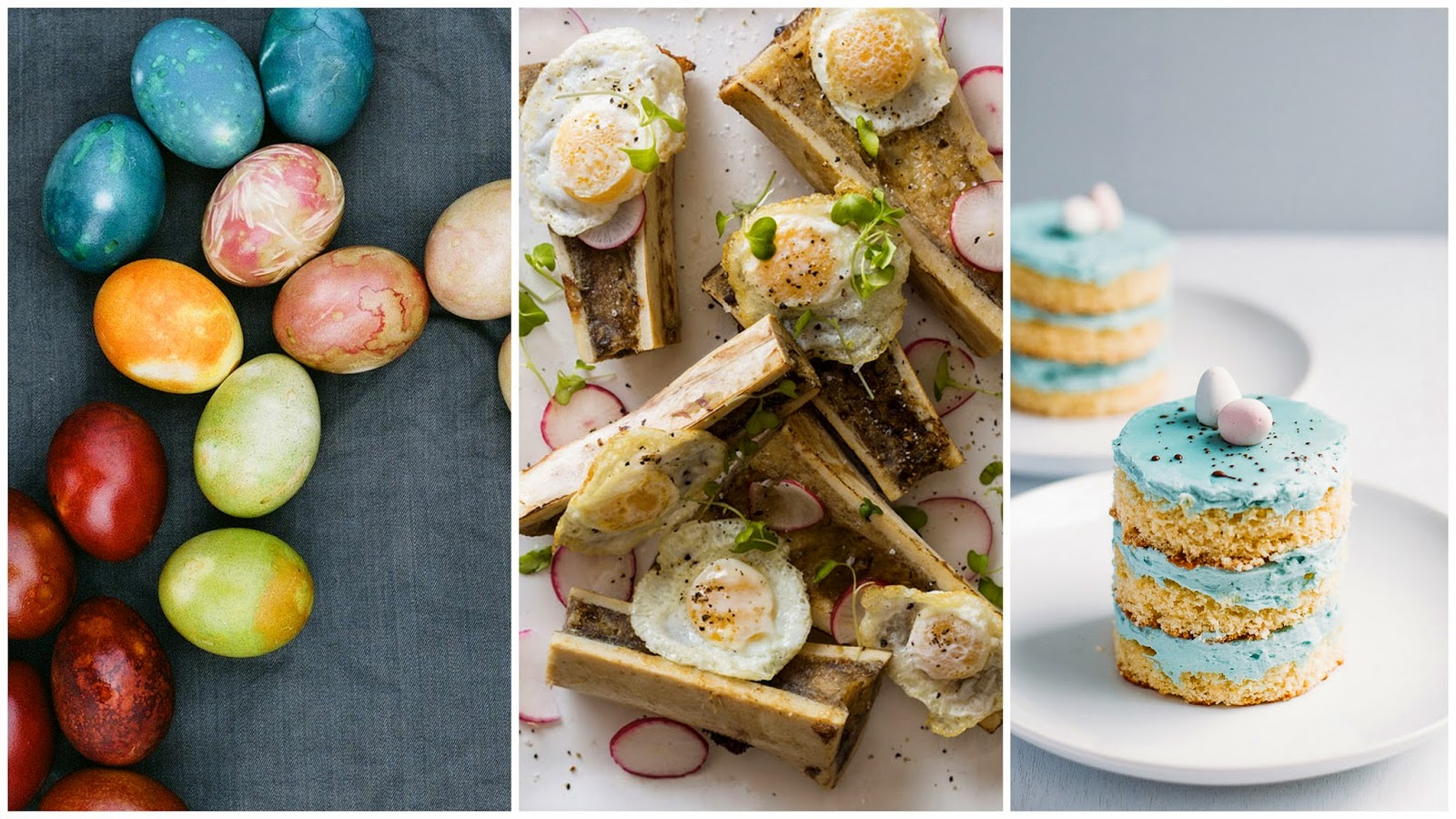 Natural Easter Egg Dyes, Egg Recipes, Robin's Egg Cakes