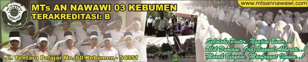 MTs An Nawawi 03 Kebumen On Line