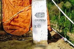 Tracklog GPS Jalur Pendakian Gunung Prau Via Patak Banteng Dieng