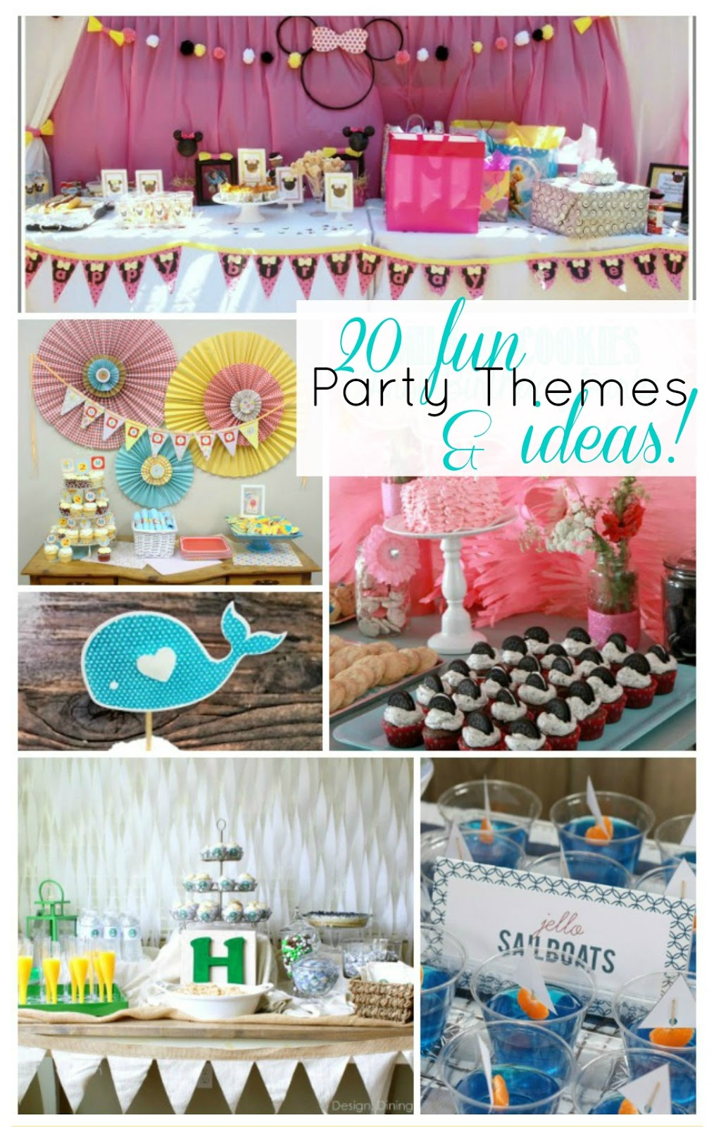 52 Mantels: 20 Party Ideas & Themes!