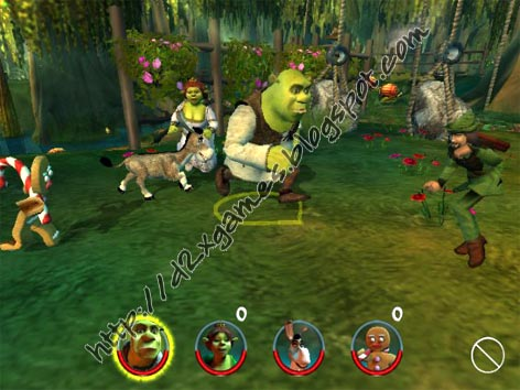 Free Download Games - Shrek 2