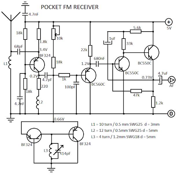 circuitos eletr u00f4nicos   pequeno receptor de fm e vhf