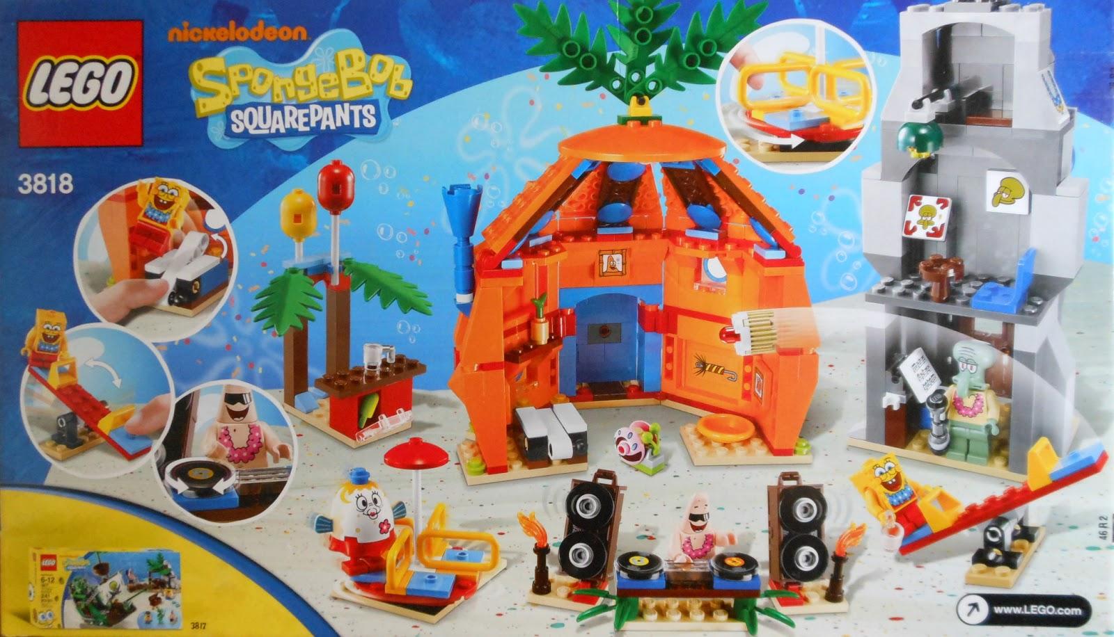Toni Builds With Lego Spongebob Bikini Bottom Undersea Party Review