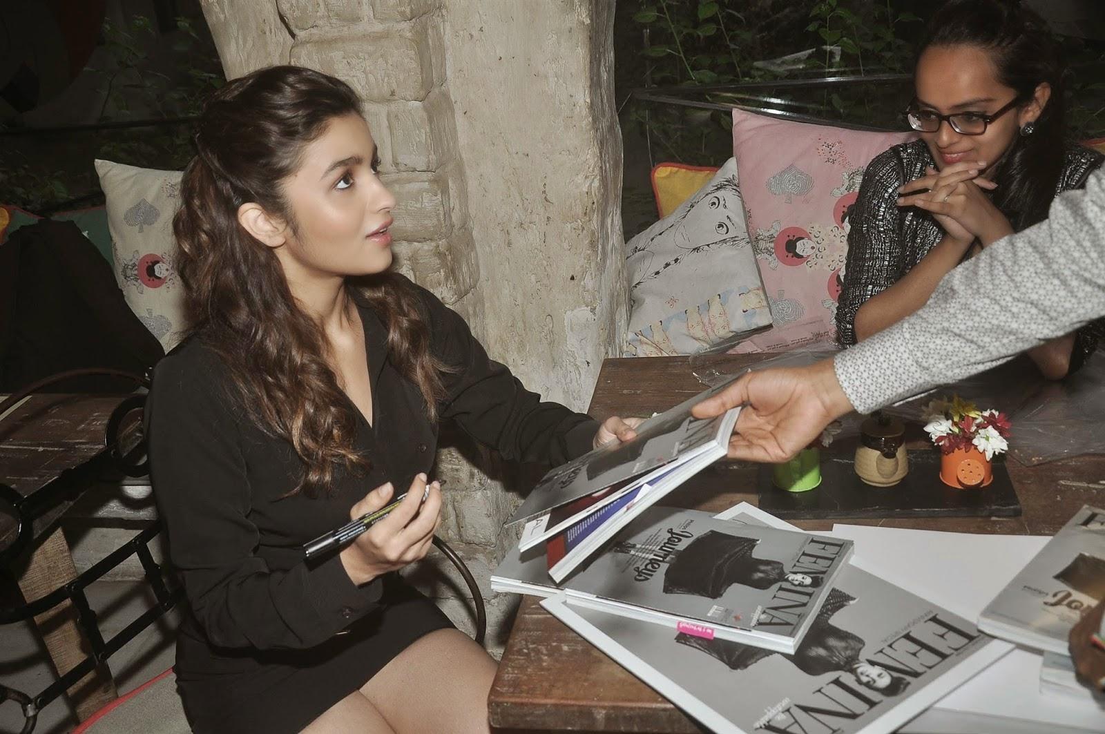Alia Bhatt at Femina Magazine Cover Launch