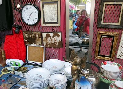 A booth at the Melrose Trading Post