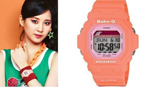 SNSD Seohyun Casio Baby G Watch Collection