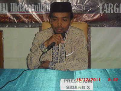 Ust. Faishal Haq memberikan pembukaan pada Musyawarah Akbar LDK....