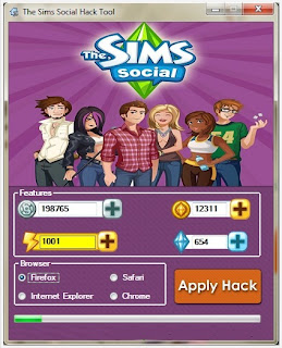 the sims social hack