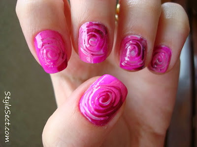 nail art color polish fashion style