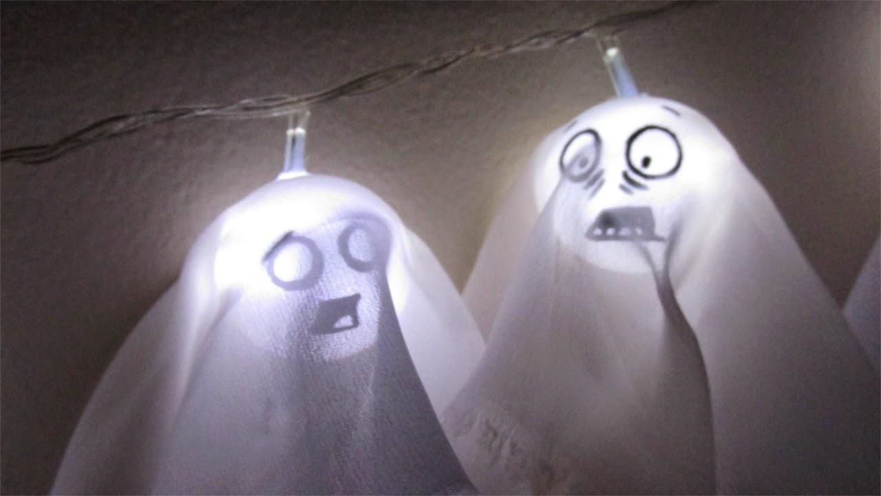 DIY: Pisca-Pisca de Fantasminhas para Decoração do Dia das Bruxas