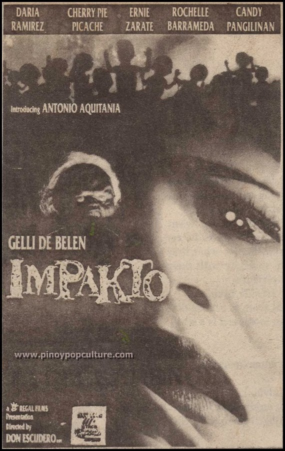 Impakto, Gelli De Belen, Regal Films