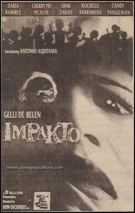 Impakto, Gelli De Belen, Regal Films