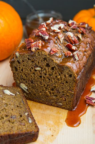 Pumpkin Greek Yogurt Banana Bread on Closet Cooking