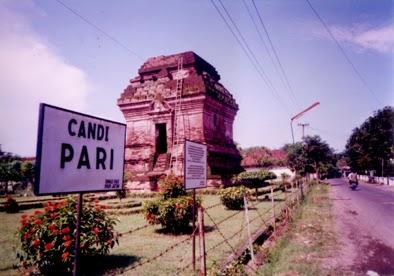 Tempat Wisata Sidoarjo Candi Pari