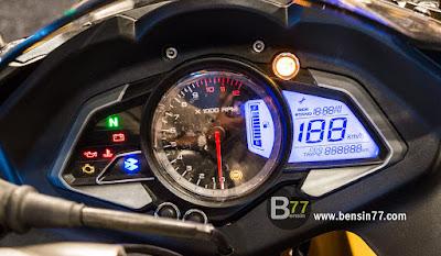 speedometer variasi pulsar 200