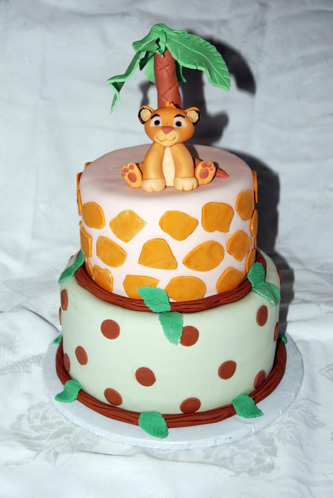 leelees cake abilities lion king baby cake