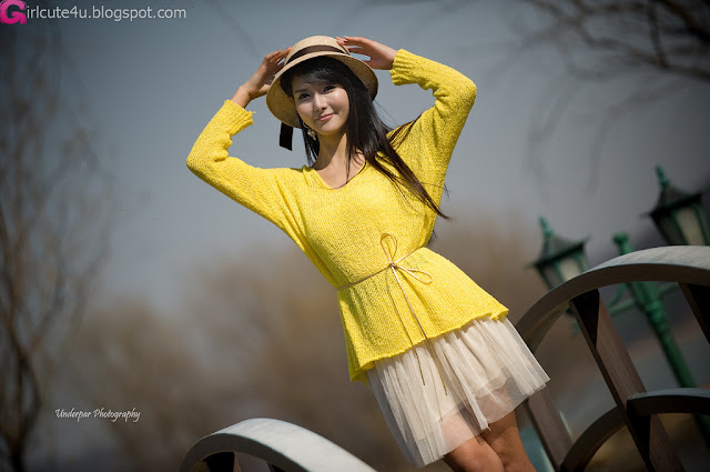 5 Cha Sun Hwa - Summer Outdoor-very cute asian girl-girlcute4u.blogspot.com