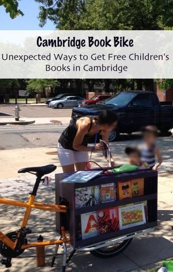 Unexpected Ways to Get Free Children's Books in Cambridge - Cambridge Book Bike - Family Friendly Boston/Cambridge