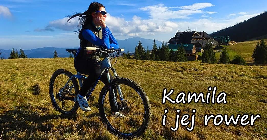 Kamila i jej rower :)