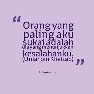 Kata Bijak Islami Umar Bin Khatab