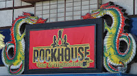 Exterior sign of Rockhouse Las Vegas, home of Taco Tuesday!