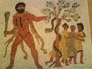 Tessellae romanorum h rcules robando las manzanas del for Jardin hesperides