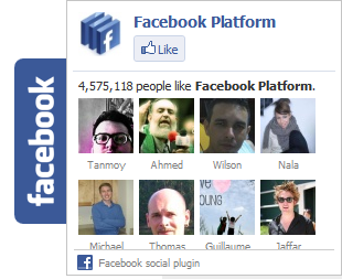 How to add facebook popup likebox in blogger ?