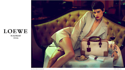 Loewe's Spring/Summer 2012 Ad Campaign