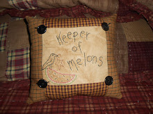 KEEPER OF MELONS PILLOW TUCK