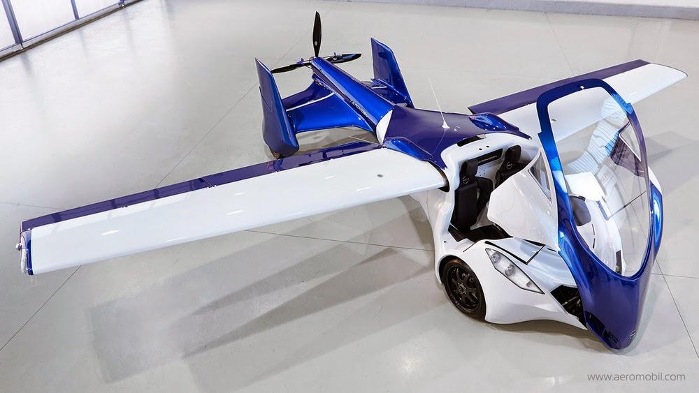 Mobil Terbang Aeromobil 3.0 Bagiang Atas
