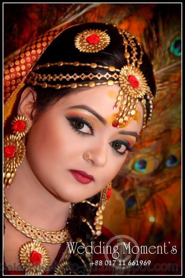 Beautiful+BANGLADESHI+BRIDE+WITH+GORGEOUS+MAKE UP+Photos+Collection013