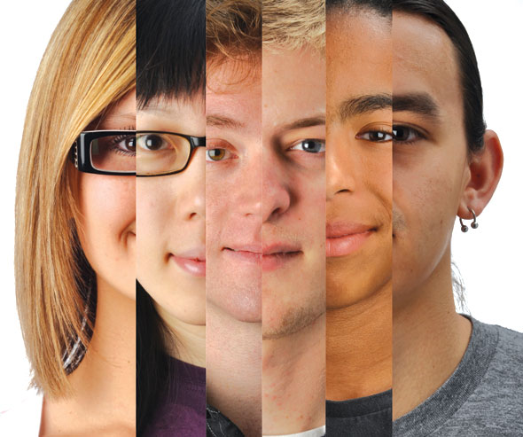 American Teens Different Face 26