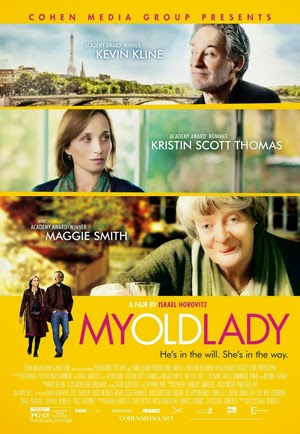 My Old Lady 2014 poster