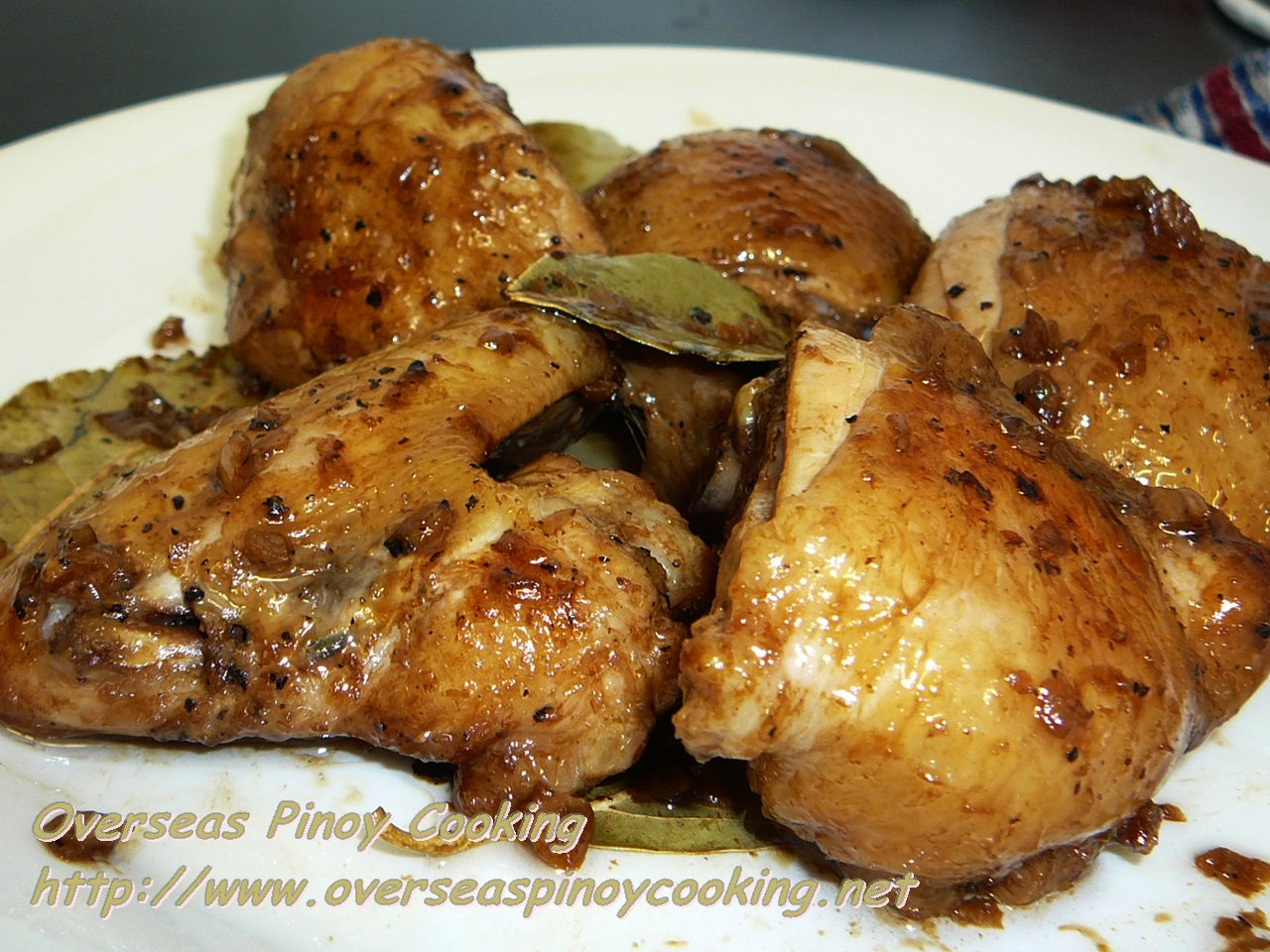 Chicken Adobo, Food Safari Chef Ricky Ocampo's Recipe