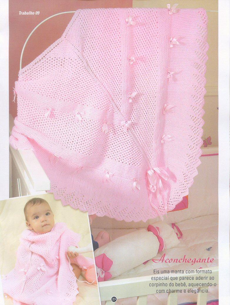 18 mantas para bebe tricot crochet patrones gratis todo - Mantas de ganchillo paso a paso ...