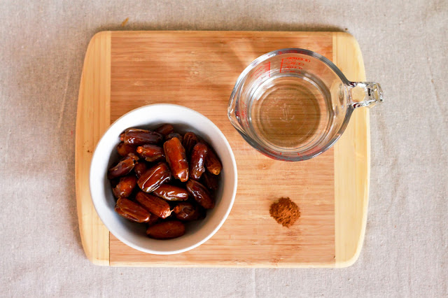 This all natural Date Honey Recipe makes a healthier and more natural way to sweeten any food or even beverage! No sugar added. | brewedtogether.com