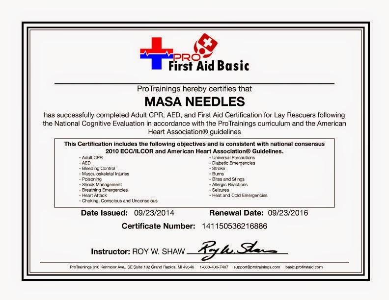 First Aid Basic 2014