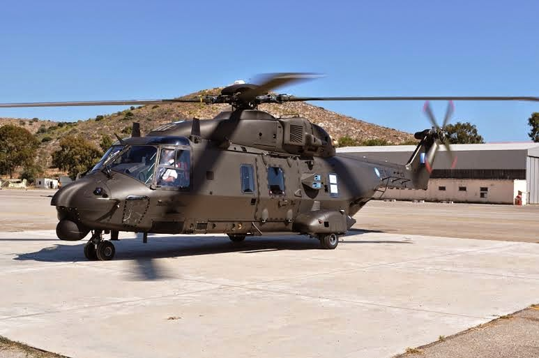 EJERCITO GRIEGO NH-90