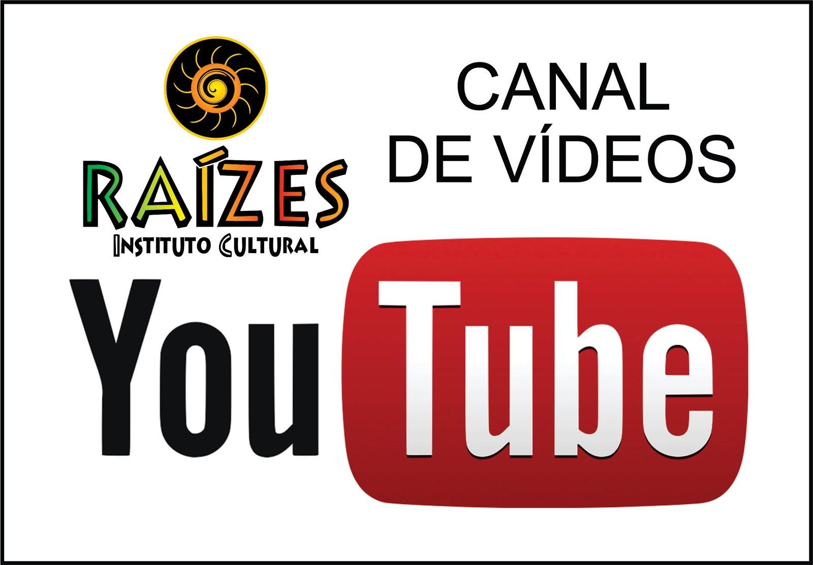 NOSSO CANAL DE VÍDEOS NO YOUTUBE