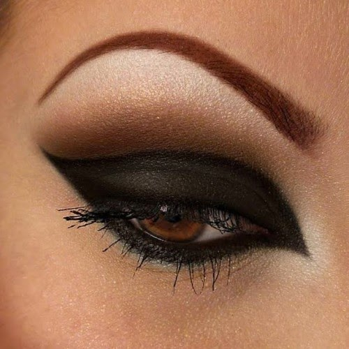 party eye makeup, perfect eye makeup, Eye Makeup Ideas For Brown Eyes