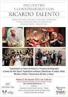 Encuentro y conversatorio con Ricardo Talento