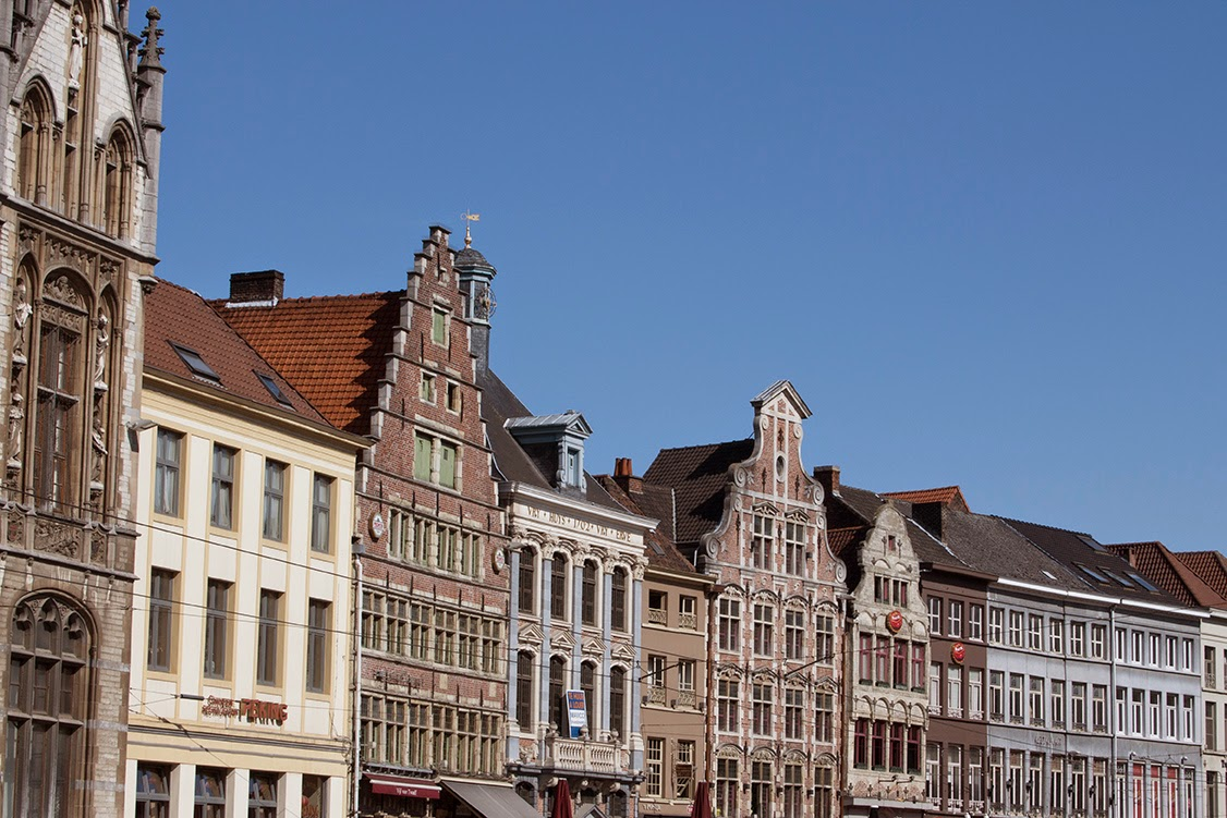 city trip to Ghent, Belgium