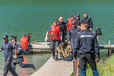eltűnt személy, katasztrófavédelem, Szent Anna-tó, Székelyföld,